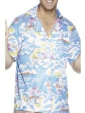 Blue Hawaiian Shirt